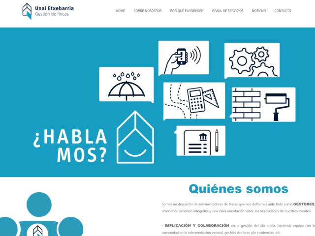 Diseño Web Unai Gestión