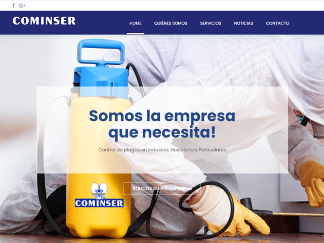 Diseño Web Cominser