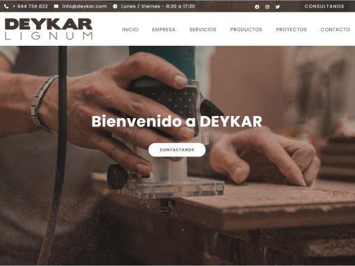 Diseño Web deykar.com