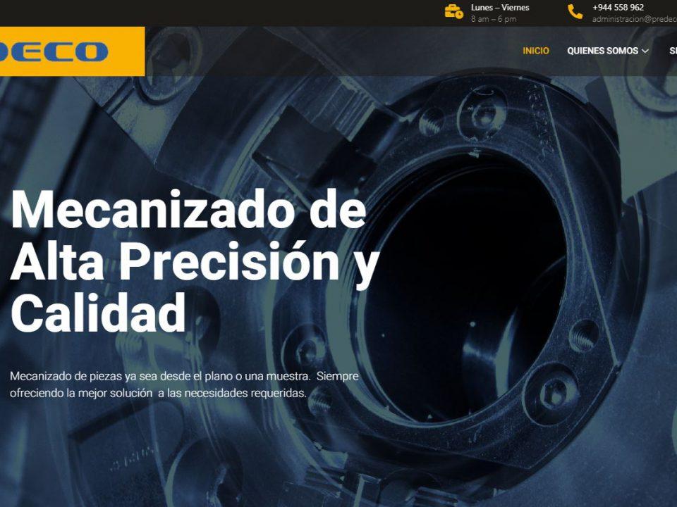 Diseño web predecosl.com